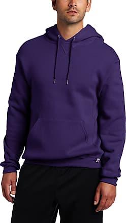 Russell Athletic mens695HBM1Dri Power Hooded Pullover Fleece Sweatshirt Long Sleeve Hoody - Purple - 3X-Large