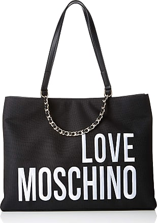 Love Moschino Canvas, Womens, Black (Nero), 15x10x15 cm (W x H L)