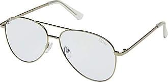Quay Eyeware Still Standing - Blue Light Glasses (Gold/Clear Blue Light) Fashion Sunglasses