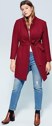 Violeta by Mango Belted wool coat
