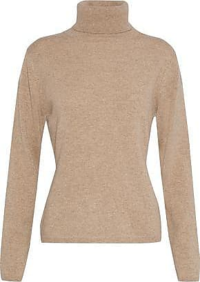 N.Peal N.peal Woman Cashmere Turtleneck Sweater Sand Size XL