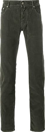 Jacob Cohen classic corduroy trousers - Green