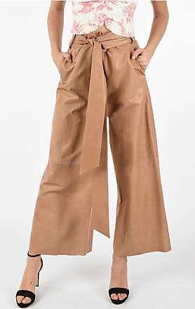 Drome Leather Wide Leg Pants Größe M