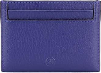 Mulberry Porta-cartões com logo - Azul
