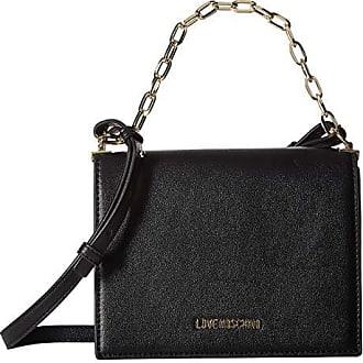 261df62eee0 Love Moschino Luminous Chain Crossbody Bag (Black) Handbags