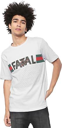 Fatal Surf Camiseta Fatal Estampada Branca