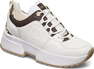 Michael Kors Cosmo Trainer Låga Sneakers Vit Michael Kors Shoes