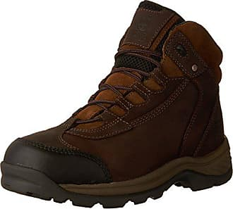 Timberland PRO Mens Ratchet Hiker CSA Work Boot, Brown Oiled Nubuck Leather, 7.5 W US