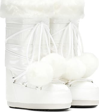 Moon Boot Exclusive to Mytheresa - Classic Pom Pom ankle boots