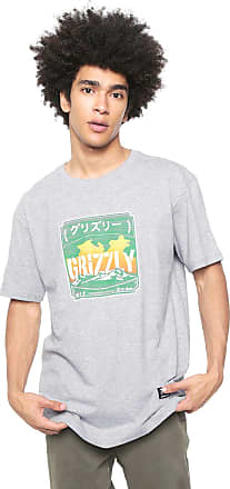 Grizzly Camiseta Grizzly Eastern Mountains Cinza