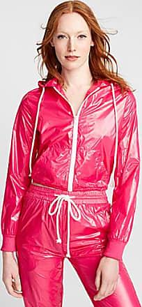 Icone Bubble gum pink laminated jacket