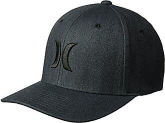 Hurley Mens Black Textures Baseball Cap, Herringbone, S-M