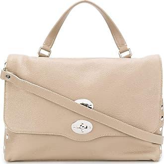 Zanellato textured leather tote bag - NEUTRALS