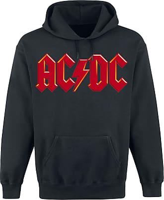AC/DC Red Logo - Kapuzenpullover - schwarz
