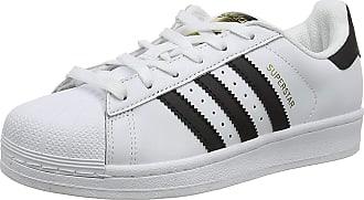 adidas Originals adidas Mens Superstar Gymnastics Shoes, White (FTWR White/Core blk/FTWR White FTWR White/Core blk/FTWR White), 8 UK