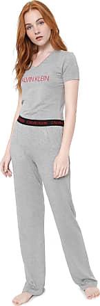 Calvin Klein Underwear Pijama Calvin Klein Underwear Visco Modern Cinza
