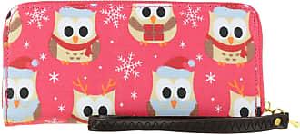 Girly HandBags Girly HandBags Christmas Owl Purse - Plum