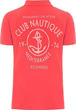 Richards POLO MASCULINA CLUB NAUTIQUE - VERMELHO