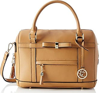 cffbe0a1444 Stella Maris Dames handtas hengseltas Schoudertas Schoudertas Fashion  bowling Bag van leer cognac met uitneembare Organizer
