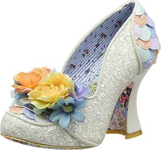 Irregular Choice Womens Desire Wedding Shoes, White (White Dark), 7.5 UK (41 EU)