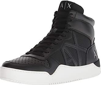 a72bec0b5de57 Armani Hi-Top Sneaker, Baskets Hautes Homme, Schwarz (Black 00002),