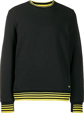 Paul Smith stripe trim sweatshirt - Preto