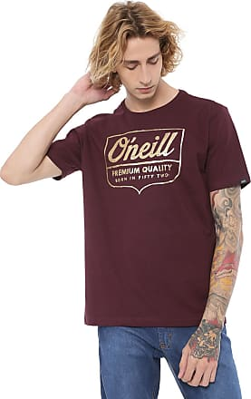 O'Neill Camiseta ONeill Script Shield Bordô