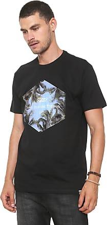 Reef Camiseta Reef Invested Preta