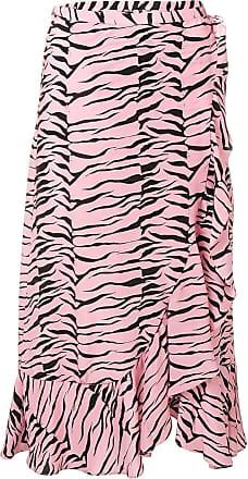 Rixo Gracie wrap skirt - Rosa