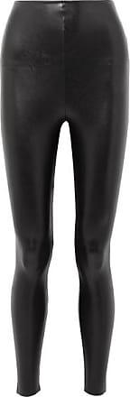 Commando Faux Stretch-leather Leggings - Black