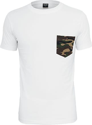 Urban Classics Camo Pocket Tee - T-Shirt - weiß