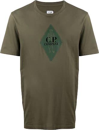 C.P. Company Camiseta com estampa de logo - Verde