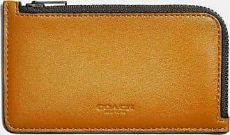 Coach L-zip Card Case In Colorblock in Multi