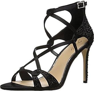 Badgley Mischka Jewel Womens Aliza II Heeled Sandal, Black, 6.5 Medium US