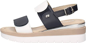 Valleverde Womens Suede Sandal 32141 Taupe or Blue. A comfortable footwear suitable for all occasions. Spring Summer 2020 Blue Size: 8 UK