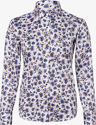 Eterna Damen Bluse - Bügelleicht weiss