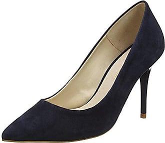 7451f59c63a Office 29858 - Zapatos de tacón con Punta Cerrada de Cuero Mujer