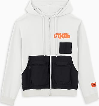 HPC Trading Co. White zipper hoodie