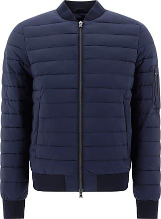 Herno Fashion Man PC003ULE192889201 Blue Polyamide Down Jacket | Spring Summer 20