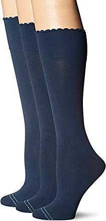 9dbe03a7ee0 Hue Womens Graduated Compression Knee Hi Socks 3 Pair Pack