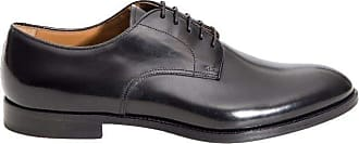 Doucal's Fashion Man DU1003MONZUF028NN00 Black Leather Lace-up Shoes | Spring Summer 20