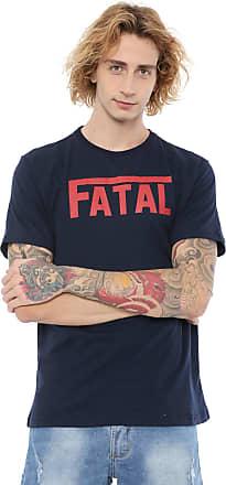 Fatal Surf Camiseta Fatal Estampada Azul-marinho