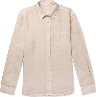 120% CASHMERE Linen Shirt - Sand
