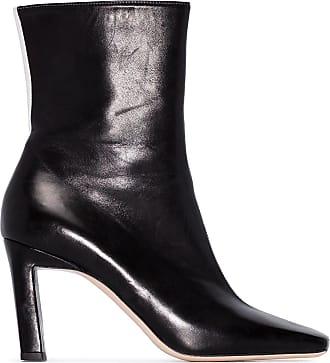 Wandler Ankle boot Isa bicolor 85 - Preto