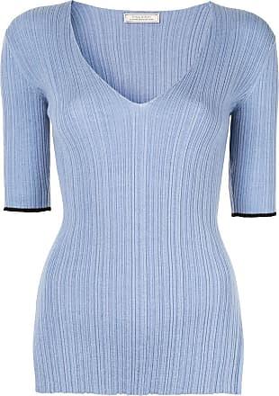 Nina Ricci Suéter decote V - Azul