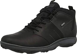 Sonderangebot Geox Herren Schwarz Schuhe Schnürschuh