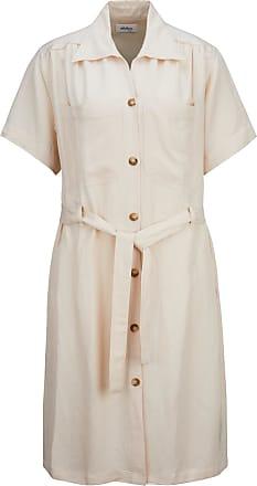 ottod'Ame Damen Hemdblusenkleid in Creme 44 IT / M
