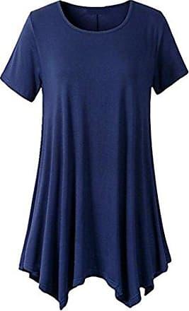 Damen Falten Kurzes Kleid T-Shirt Herbstart Langarm Kariertes Tops Bluse Shirt