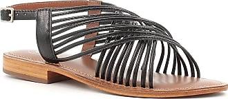 Woz? Sandalo in Pelle a Listelli