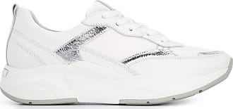 Kennel & Schmenger Tênis com recortes metalizados - Branco